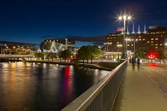 Stockholm at Night (WickedMark) Tags: longexposure light sky water night canon lens slow stockholm 4 trails 1d l f28 2470 1dmark4