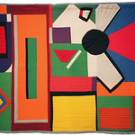 """<b>House of Cards, 1960 (after: Al Held)</b><br/> Rebecca Kamm (Art Quilt, 2011)<a href=""""http://farm9.static.flickr.com/8478/8241635763_8ce3219b3f_o.jpg"""" title=""""High res"""">∝</a>"""