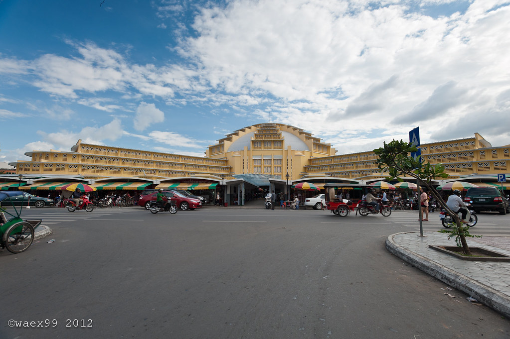 The Central Market - Phnom Penh- Cambodia