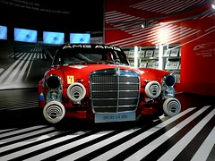 Mercedes-Benz 300 SEL 6.8 AMG (Nicolas Fourny photographie) Tags: mercedes mercedesbenz amg mercedesbenzmuseum mercedesmuseum w108 300sel63 300sel68