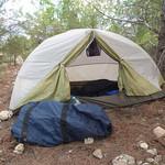 "Campsite, morning of 4 December <a style=""margin-left:10px; font-size:0.8em;"" href=""http://www.flickr.com/photos/59134591@N00/8247528918/"" target=""_blank"">@flickr</a>"