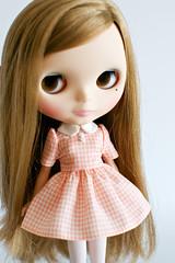 Sorbet Houndstooth Dress