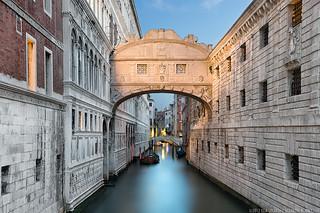 Ponte dei Sospiri - The Bridge of Sighs - (Venice, Italy)
