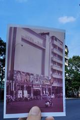 Rạp Hưng Đạo, năm 1966 (Khánh Hmoong) Tags: building theatre 1966 vietnam saigon oldpicture thennow lookingintothepast nikond90 xưavanay