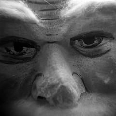 Santa Mask 2 (tomdebiec) Tags: santa christmas holga mask toycamera lancaster santaclaus lancastercounty lancasterpa santamask christmasmuseum nationalchristmasmuseum
