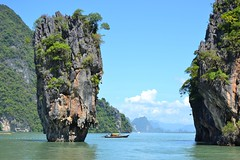 James Bond Island (Diekk) Tags: travel viaje thailand island james nikon asia tailandia bond isla jamesbondisland phangnhabay d3100