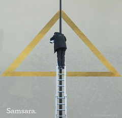Samsara (h.koppdelaney) Tags: life art digital photoshop observation freedom power control symbol picture philosophy security mind bigbrother metaphor zeitgeist psyche symbolism samsara psychology archetype observer darkages koppdelaney