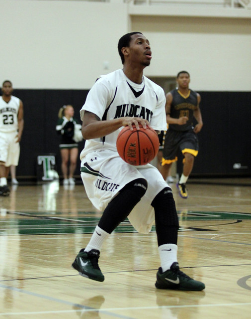 Senior Isiah Mason went 6-for-7 from the floor, scoring 13 points off the bench in the victory over Goldey-Beacom