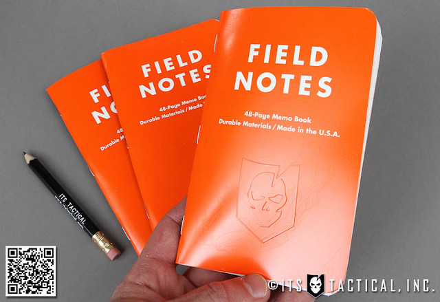 ITS Embossed Field Notes Waterproof Expedition Edition 01