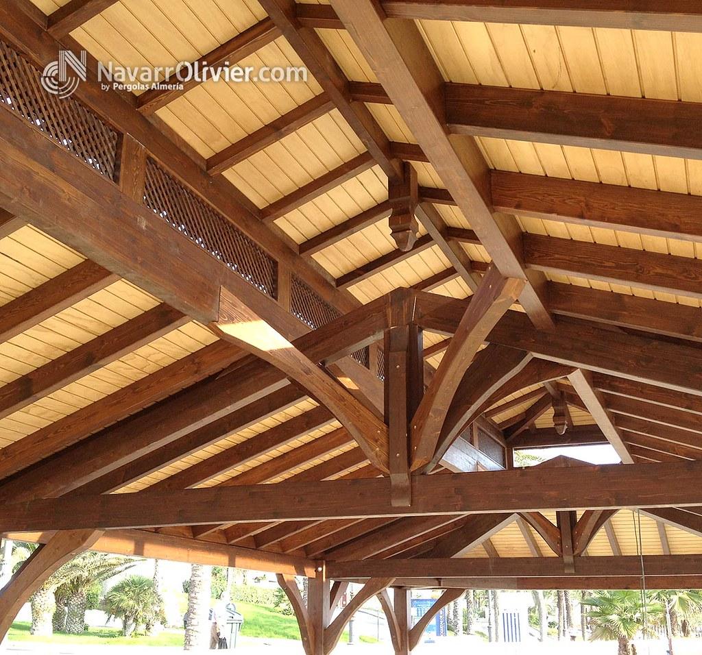 The world 39 s best photos by navarrolivier estructuras de - Cubiertas de madera ...