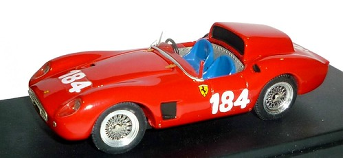 Jolly Model Ferrari 500TRC Targa Florio 48