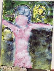 CHRIST 2003 PAR CYRIL RUELLE PAINTING (RUELLE CYRIL ART) Tags: art up museum modern painting paper landscape see landscapes video vimeo google poetry artist contemporaryart contemporary modernart tag paintings visualarts nuclear tags off moderne peinture painter expressionist concept ruelle visuals persons date emotional coming visual cyril http rhetoric peintures nuke facebook poesie selfexpression visualartists selfnude objectivity newclear subjectivity censors twitter mixedmedias expressivity cyrilruelle asprayerforamerica picsartworks newkeen ruellecyril lyricelleur cyrilruelleart19962006 mypictureisregularlytakingwithoutmyapprovalwheniamoninternet moglik cyrilruelleart jessiestimezone