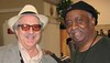Photo of Jon Hammond and Bernard Purdie -- enjoy all the videos since 1989 folks!