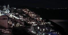 Santorini night (stendol [L.B.W.L.]) Tags: santorini night caldera view notte