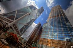 Skyscrapers in Hong Kong (Calim*) Tags: buildings skyscrapers architecture hongkong