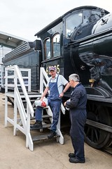 Takin' Five. (Echo Charlie Three Zero) Tags: nrmshildon steamengines steam locomotives nikond600 shildonshedbash 63395