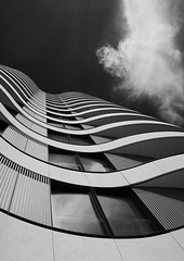 Curvaceous (Ali -1963) Tags: windows curves mono building london hww