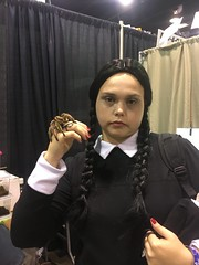 wizard world chicago. 2016 (timp37) Tags: ww wizard world chicago illinois august 2016 comic con nat nathalie wednesday addams family cosplay spider insect rosemont conlife cosplayer