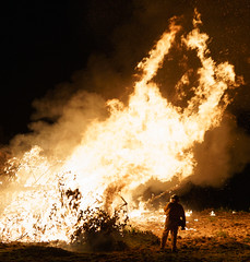 Burnoff (robdownunder) Tags: cfs sonya7rm2 zeissbatis25 burnoff a7rii bonfire firefighter night flame