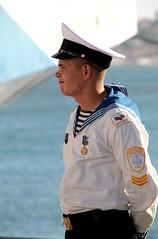 (daniel.virella) Tags: stsmir  mir thetallshipsraces2016 lisboa portugal tallships people cadet sailor russia picmonkey
