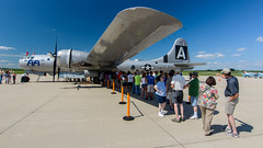 Look!  It's a plane! (contemplative imaging) Tags: 2016 20160716 airpowerhistorytour auroramunicipalairport cimisc20160716d7000 commemorativeairforce aircorps airforce airpower aircraft airplane airplanes airport america aviation b29 boeing bomber contemplativeimaging d7000 day digital dslr fifi flightline historic historical hot il ill illinois july kanecounty midwest midwestern military nikon nx529b partlysunny photo photography preservation ronzack saturday sugargrove summer superfortress usa war warbird warbirds weapon weapons worldwarii ww2 wwii