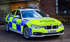 LJ16BAA (firepicx) Tags: lj16baa northumbria police brand new traffic car bmw roads policing rpu tango 330d xdrive motor patrols alnwick northumberland 999 emergency blue lights sirens uk united kingdom england