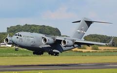 66156 C-17A USAF (GSairpics) Tags: 66156 boeing c17 c17a globemaster usaf usairforce mil military transport travel flight cargo aircraft aeroplane airplane aviation airport pik egpk prestwickairport ayrshire scotland jet 066156