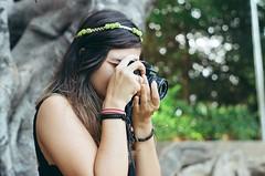 18 (danielmaforte) Tags: filme kodak colorplus200 kodakcolorplus filmisnotdead pentax pentaxk1000 fotografiaanalogica girlfriend namorada zenit 12xp 50mm fotografa