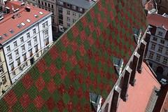 St. Elizabeth's Roof (dreamtwister82) Tags: poland polonia polska architecture arquitectura street calle stare miasto old town ciudad vieja europa europe wroclaw breslavia st elizabeths church iglesia santa isabel nikon d5300