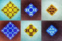 Little Blocks (De Rode Olifant) Tags: origami littleblocks marjansmeijsters tessellation paper paperfolding blocks pattern