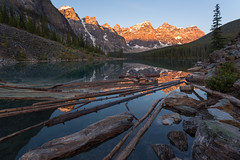 Moraine in the Morning (Ken Krach Photography) Tags: lakemoraine