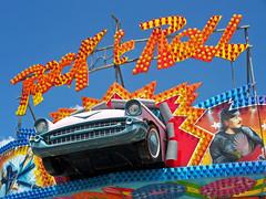 OH Columbus - Rock & Roll (scottamus) Tags: columbus ohio franklincounty ride carnival fair amusementpark sign ohiostatefair rockroll