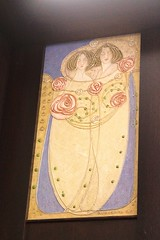 Detail of Dining Room decorative panels (Raven Photographic) Tags: glasgow scotland bellahouston houseforanartlover mackintosh margaretmacdonald