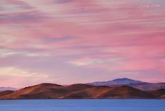 On Golden Hills (flopper) Tags: fremontca donedwardswildliferefugee moonrise sanfranciscobayarea sunset coyotehills cloud