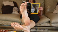 Tinsley Propping Up Her Dirty Feet (Fanta_Productions) Tags: feet footfetish femalefeet dirtyfeet