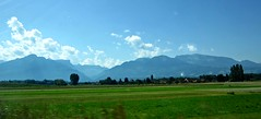 En route to Chamonix (AmyEAnderson) Tags: france europe countryside mountains grassland alps rhonealpes scenic