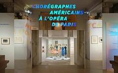 "L'exposition ""Chorgraphes amricains  l'Opra de Paris"" (palais Garnier) (dalbera) Tags: dalbera opradeparis palaisgarnier paris france exposition chorgraphesamricains"