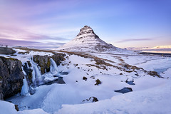 Majestic Kirkjufell (denny.yang) Tags: none iceland winter snow sunset long exposure waterfall sony a7rii a7rm2 zeiss 1635 f4 denny yang dennyyang kirkjufell kirkjufellsfoss