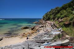 Bondi - Coogee Beach (soyouz) Tags: aus australie coogee geo:lat=3391492900 geo:lon=15126089450 geotagged newsouthwales mer coogeebeach plage bateau bondi australiel
