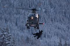 T-369 EC635P2+ (Smi_Madani) Tags: swissairforce airforce eurocopter airbus t369 ec ec635 ec135 helicopter heli helikopter airbushelicopter nikond7100 d7100 nikon switzerland winterday winter cold policeairsupport fastrope graubnden grisons schweiz