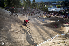 CWX 2016 Dual Speed & Style Shadow (Jeremy J Saunders) Tags: tom van steenbergen clif bar dual speed style crankworx whistler bike park bc 2016 jeremyjsaunders jjs d800 nikon