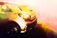 Mercedes sur scene (philippejeanne) Tags: mercedes voiture automobile scene salon auto vehicule foire vente roue limiere lumire fume fume fumigne
