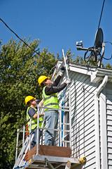 Solar Panel Installation Work Platform