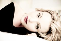 Julie Ormancey (JulieOrmancey) Tags: light woman love beauty eyes sweet blond elegant pure