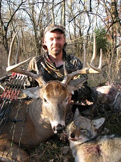 Kansas Trophy Whitetail Bow Hunt 24