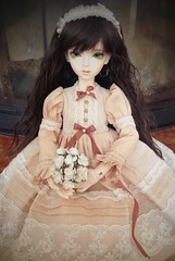 Portrait d'dith (Lynaxchan) Tags: photo doll dress random bjd dollfie msd irin dith serenite littleharmony littlemonica