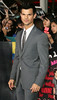 Taylor Lautner, at the premiere of 'The Twilight Saga: Breaking Dawn - Part 2' at Nokia Theatre L.A. Live. Los Angeles, California