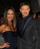 Sharni Vinson, Kellan Lutz at the premiere of 'The Twilight Saga: Breaking Dawn - Part 2' at Nokia Theatre L.A. Live. Los Angeles, California