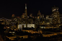 San Francisco at Night (Patrick Gregerson) Tags: sanfrancisco california city orange building night lights clear bayarea october2012