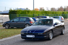 BMW 850i E31 (Alexandre Prvot) Tags: auto france cars car sport automobile european parking transport automotive voiture route exotic nancy lorraine 54 supercar luxe spotting berline motorsport exotics bayerische supercars ges 54000 motoren werke dplacement bayerischemotorenwerke worldcars serie8 grandestsupercars